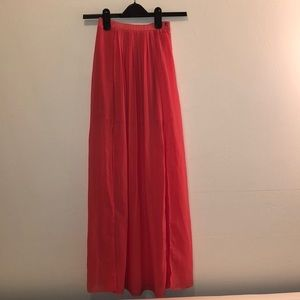 Dresses & Skirts - Coral maxi skirt